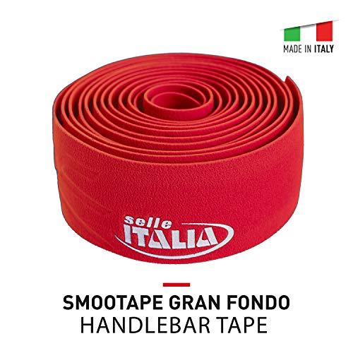 Selle Italia - Cinta para Manillar Bicicleta de Carretera SMOOTAPE Gran Fondo EVA 2.5mm Gel PMS C, Ultra Comfort, Antideslizante, Elástico