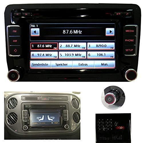 Auto Radio Radio RCD 510 for Volkswagen Golf Passat Tiguan Caddy Polo with CD Player + AUX + RDS + MP3 + SD Slot