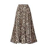 Sylar Falda Larga Plisada Mujer Faldas De Fiesta Elegantes C
