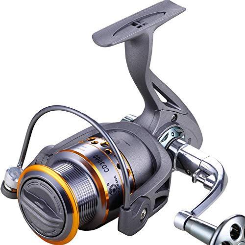 GJJSZ Carrete de Pesca Gris de Agua Dulce Carrete de Pesca rápido de mar Carrete de Pesca (Color: Gris, tamaño: 3000), Gris, 3000