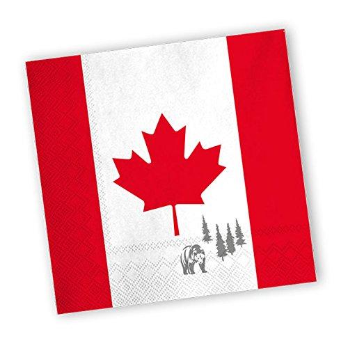 DH-Konzept Servietten Kanada 20er Pack