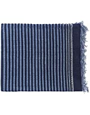 "HASHTAG Striped Carpet (Multicolour, Cotton, 72"" x 48"")"