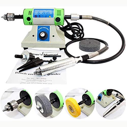 InLoveArts Multifunktions Desktop Schleifmaschine Schleifer Poliermaschine Carving Gravieren Ausrüstung Schmuckherstellung Werkzeuge Elektrische grinder