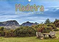 Madeira, die Insel im Atlantik (Wandkalender 2022 DIN A3 quer): Weite Landschaftsbilder von der Blumeninsel Madeira (Monatskalender, 14 Seiten )