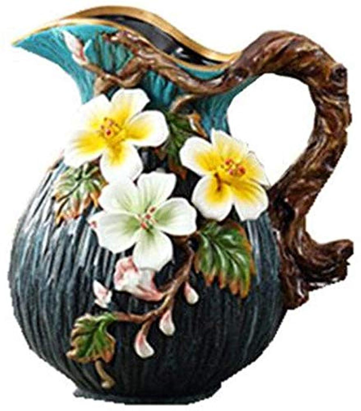 グロー海賊輸血花器 ルームホームオフィスの結婚式のセンターピースの 磁器美しい手工芸品庭の装飾セラミック 花瓶