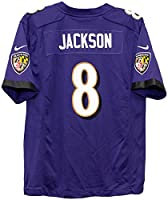 Nike Lamar Jackson Baltimore Ravens Youth Game Jersey - Purple (Youth XL 18-20)