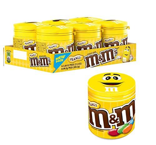 M&M's Peanut Confetti al Cioccolato Contenenti Arachidi - Pacco da 8 pezzi x 100 g