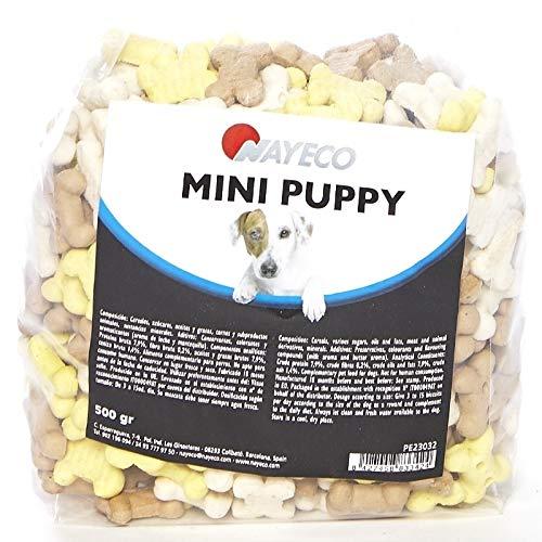 Nayeco - Galletas para Perros Cachorros Mini Puppy 500 gr