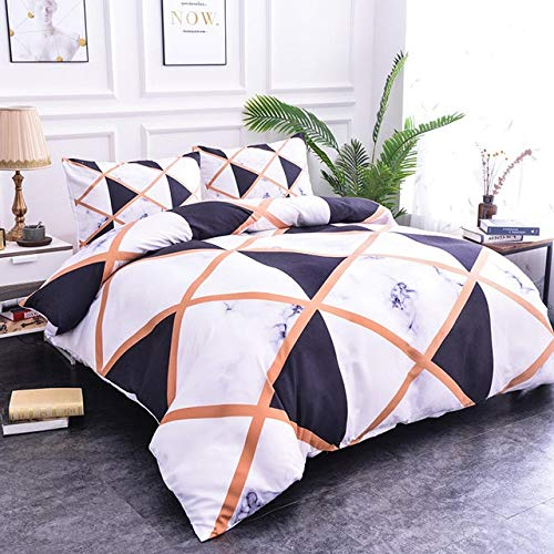 RONGXIE zacht marmer patroon beddengoed sets dekbedovertrek set van tweepersoonsbedden geometrisch bed set Twin Queen King Quilt Cover Bed kleding