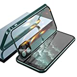 Double-Sided Buckle Iphone Case, for iPhone 11/12 Pro Max (Vert, pour IP 12 Pro Max)