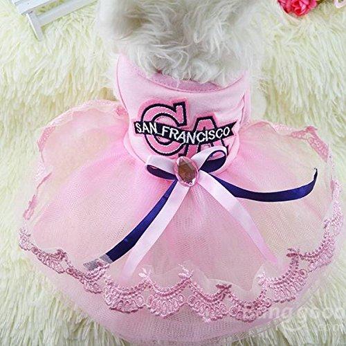 Bazaar zomerjurk voor honden, prinses, puppen, jurk, kant, draad