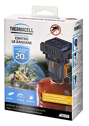 Thermacell Back Packer Anti-muggen, draagbaar, zwart, 15,24 x 10,92 x 5,72 cm