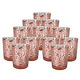 Yiwa Glas Kerzenhalter Glas Crystal-Like Romantische Leuchter Teelicht Kerze Cup für Home Hochzeit...