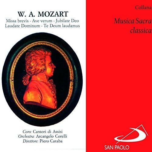 Francesca Maria Saracchini, Orchestra Arcangelo Corelli, Piero Caraba