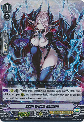 Cardfight!! Vanguard - Skull Witch, Nemain - V-BT02/007EN - RRR - V Booster Set 02: Strongest! Team AL4