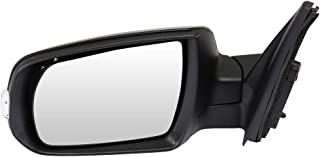 TUPARTS Rear View Mirror Left Side Towing Mirror Compatible with 2011 2012 2013 2014 2015 Kia Sorento with Manual Folding Power Adjustment Heated Turn Signal