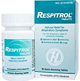 HelloLife Respitrol Tablets - Respiratory Symptom Relief - for Safe, Temporary Relief of: Chest Tightness + Shortness of Breath + Wheezing + Coughing