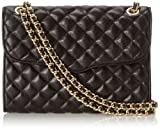 Rebecca Minkoff Quilted Affair Shoulder Bag,Black,One Size