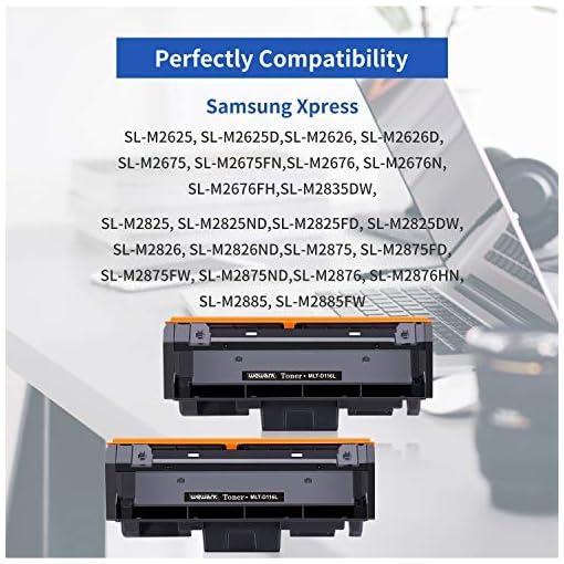 Wewant Toner D116L Reemplazo para Samsung MLT-D116L D116S Cartucho de Tóner Compatible con Samsung SL M2825 M2825ND… 2