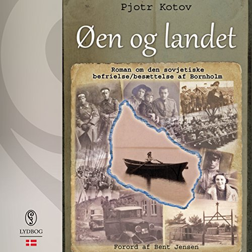 Øen og landet (Danish Edition) audiobook cover art