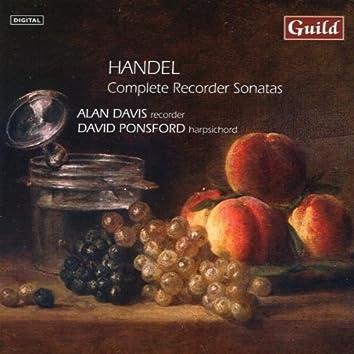 Complete Recorder Sonatas by Handel