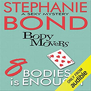 8 Bodies Is Enough audiobook cover art