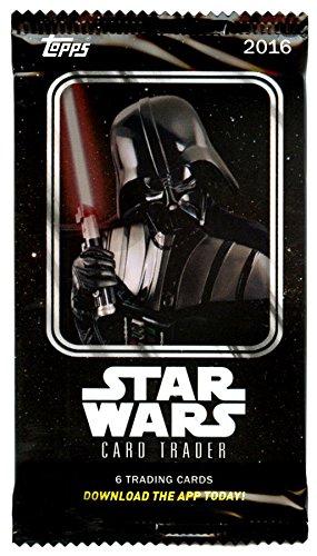 Star Wars Topps - Tarjetas de coleccionista, diseño (6 Unidades)