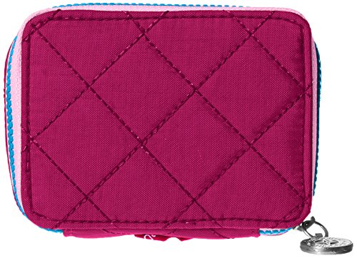 top 10 baggallini travel organizer Baggallini Travel Pill Case, Pink / Pink