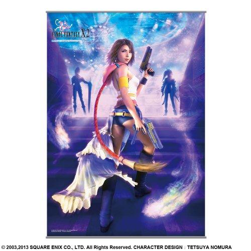 Final Fantasy X-2 HD Remaster Wandrolle 106 x 77 cm