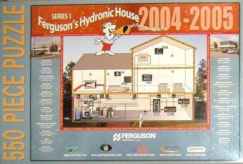 Ferguson's Hydronic House 2004-2005 Puzzle  550 Pieces by Ferguson
