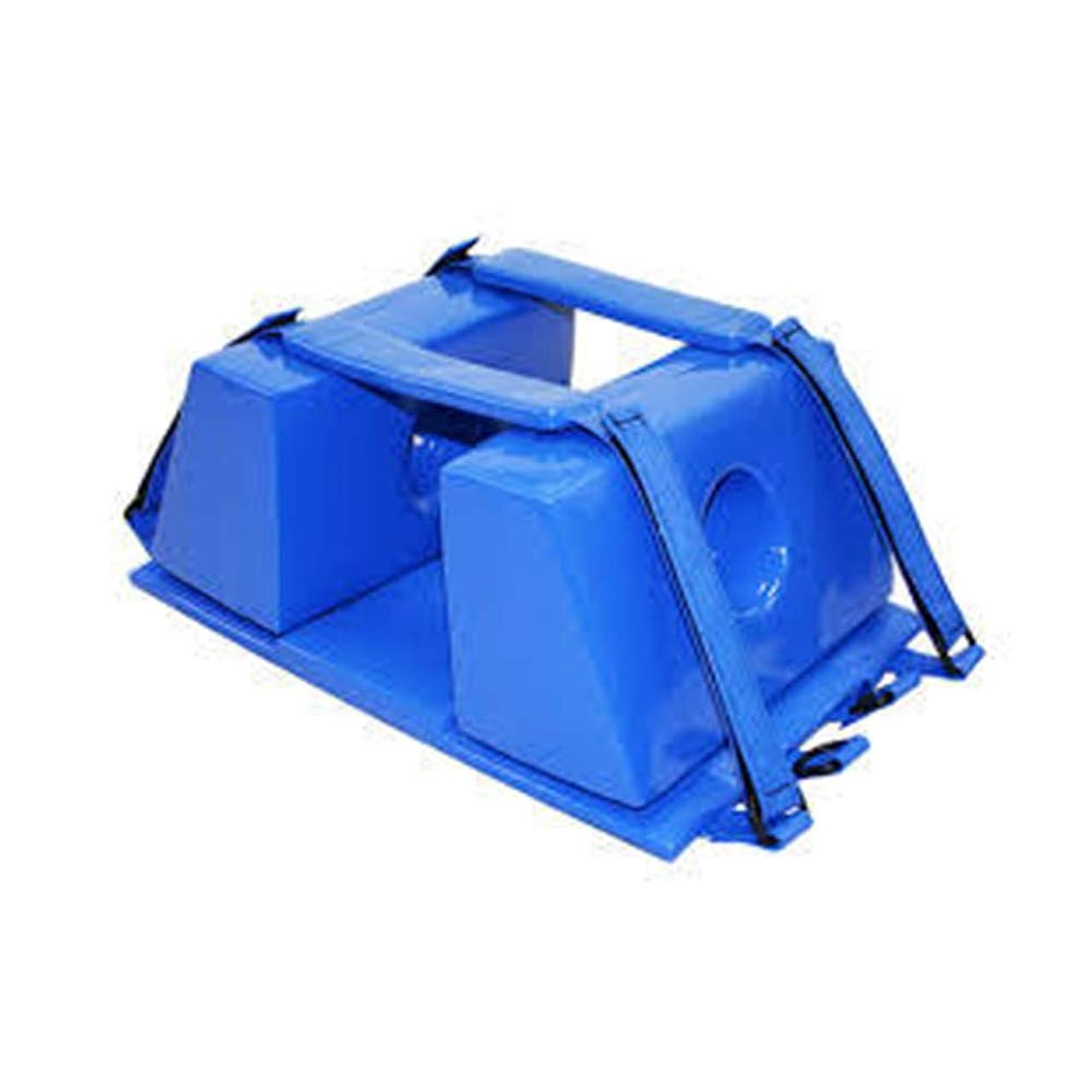 火山伝導率フォージ背板 - 背骨のための普遍的な緊急の再使用可能な救助のライト級選手のための脊椎板頭部の固定装置,Blue