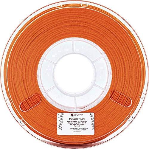 3Dプリンタ―用フィラメント PolyLite ABS 1.75mm径 1kg巻 (オレンジ)
