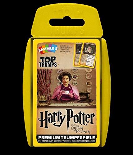 Winning Moves GmbH WIN62820 Nein Top Trumps: Harry Potter und der Orden des Phönix, Spiel, Trumpfspiel