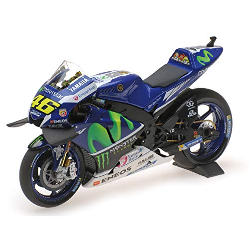 /Miniatura moto Valentino Rossi Moto GP Yamaha Racing 16/escala 1//10. VR46/