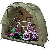 Umora オリーブ 自転車テント 雑貨 片屋根式簡易ガレージ 家庭用 置き場 多機能 バイク アウトドア 戸外 携帯可