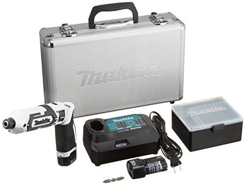 マキタ(Makita) 充電式ペンインパクトドライバ 白 バッテリー×2・充電器付 TD022DSHXW