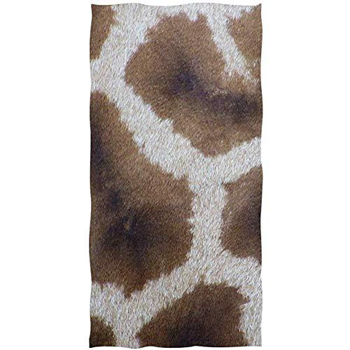 LaLaLa.R Giraffe In Kleurrijke Rijden Vintage Fiets Hond In Mand Op Witte Zachte Badhanddoek Absorberende Handdoeken Multipurpose Voor Badkamer Hotel 30X70CM