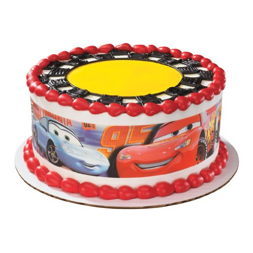 Disney Cars Cake Wraps Edible Image Sugar Sheet Designer Prints Amazon Grocery Gourmet Food