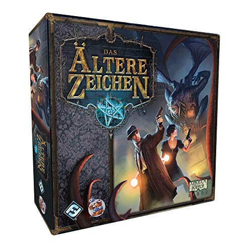 Das Ältere Zeichen - Grundspiel - Brettspiel   DEUTSCH   Lovecraft Horror