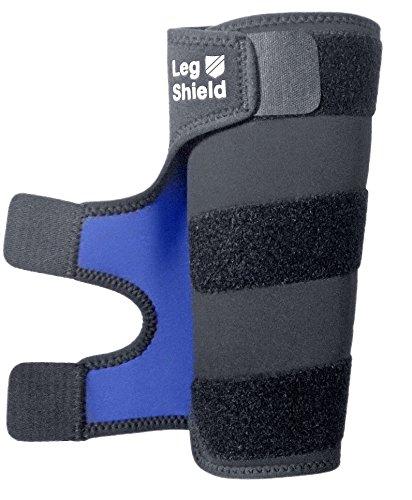 Leg Shield Hosenschutz für Radfahrer - Schützt die Hose des Radfahrers Komplett vor Fett und Kette, anders als Andere Hosenbänder und Hosenklammern - Komfortabler Sitz, Einfache Handhabung (1 Stück)