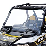 AURELIO TECH Hard Coated Polycarbonate Clear UTV Full Windshield for Polaris Razor, 2019-2021 RZR XP 1000, 2019-2021 RZR XP 4 1000, 2019-2021 RZR XP Turbo, 2019-2021 RZR XP 4 Turbo