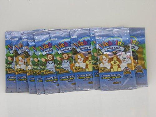 Webkinz Trading Cards-10 Packs(Series 1)