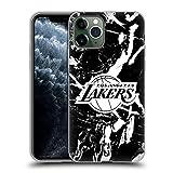 Head Case Designs sous Licence Officielle NBA Marbre 2019/20 Los Angeles Lakers Coque en Gel Doux...
