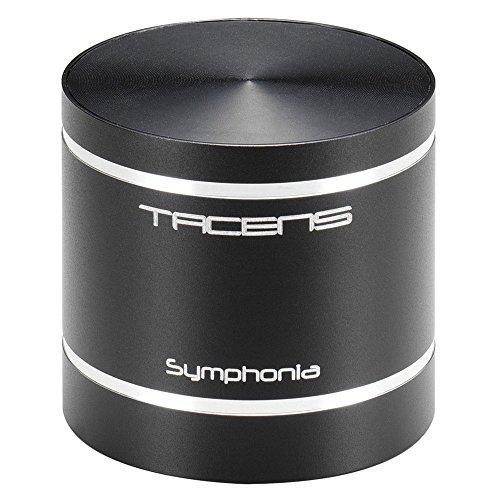 Tacens Symphonia - Altavoz portátil (Bluetooth, bajos potentes, lector de tarjetas SD, batería de larga duración, MP3, USB), negro