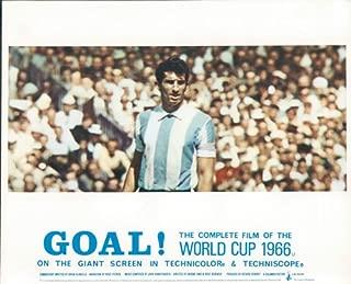 GOAL! THE WORLD CUP 1966 ENGLAND FOOTBALL RARE ORIGINAL LOBBY CARD ARGENTINA