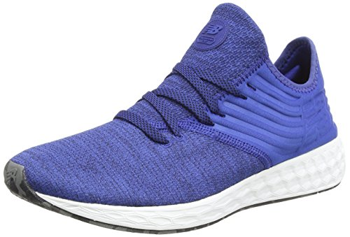 New Balance Herren Fresh Foam Cruz Decon h Sneaker, Blau (Blue/Black), 41.5 EU