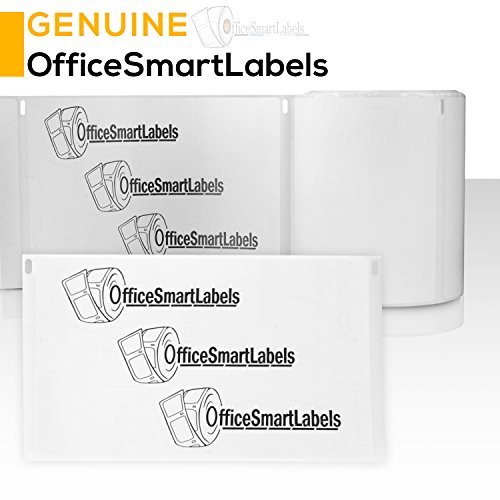 "OfficeSmartLabels - 2-1/8"" x 2-3/4"" Veterinary Diskette Media Labels, Compatible with Dymo 30258 (4 Rolls - 400 Labels Per Roll) Photo #4"