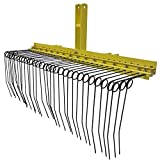 Titan 5 ft 3 Point Pine Straw Needle Rake for Cat 1, 3 Point