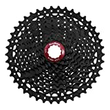 SunRace MX3 Mountain Bike Bicycle Compatible with Shimano 10 Speed Cassette 11-46T Black