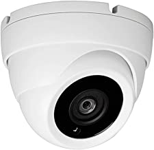 Sinis Super Hybrid 5MP 4MP 1080P HD-TVI/CVI/AHD/960H CCTV Surveillance Security Camera Day Night Vision Waterproof Outdoor/Indoor 3.6mm Fixed Lens Array Metal Dome Video System